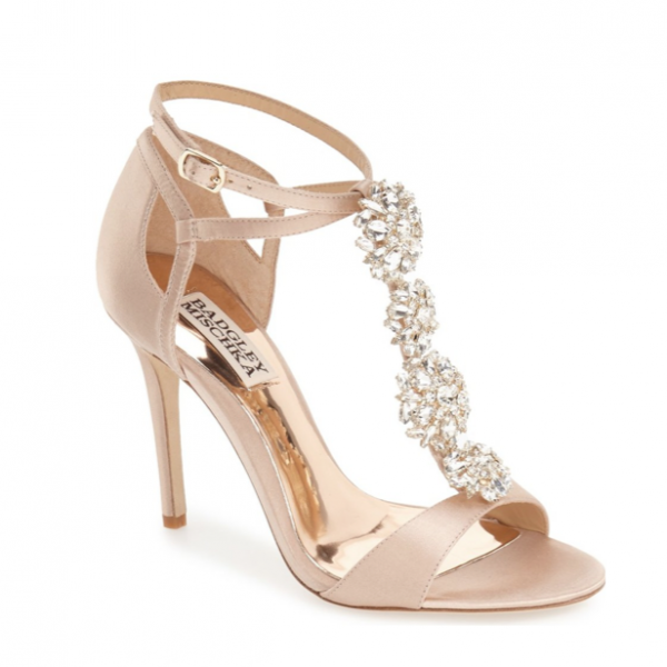 Embellished Evening Sandal by Badgley Mischka