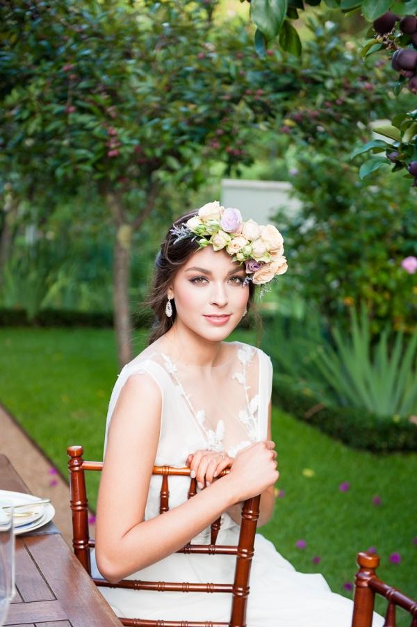 A Garden Gala with Hydrangea & Watercolor Details