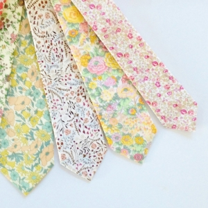 Gorgeous hand sewn custom neckties