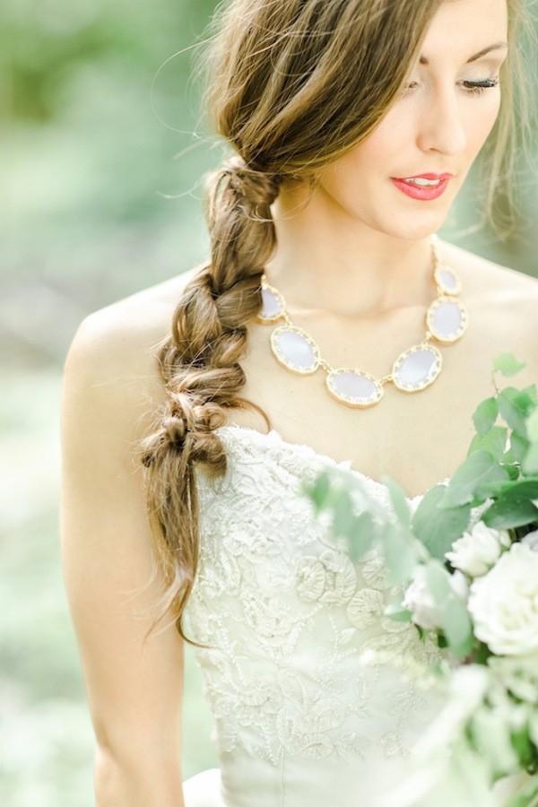 Green Wedding Ideas: Romantic, Ethereal + Timeless