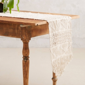 Handwoven Macrame Runner from Anthropologie