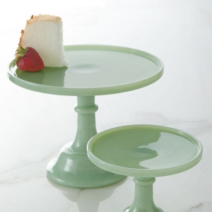 Jadeite Wedding Cake Stand