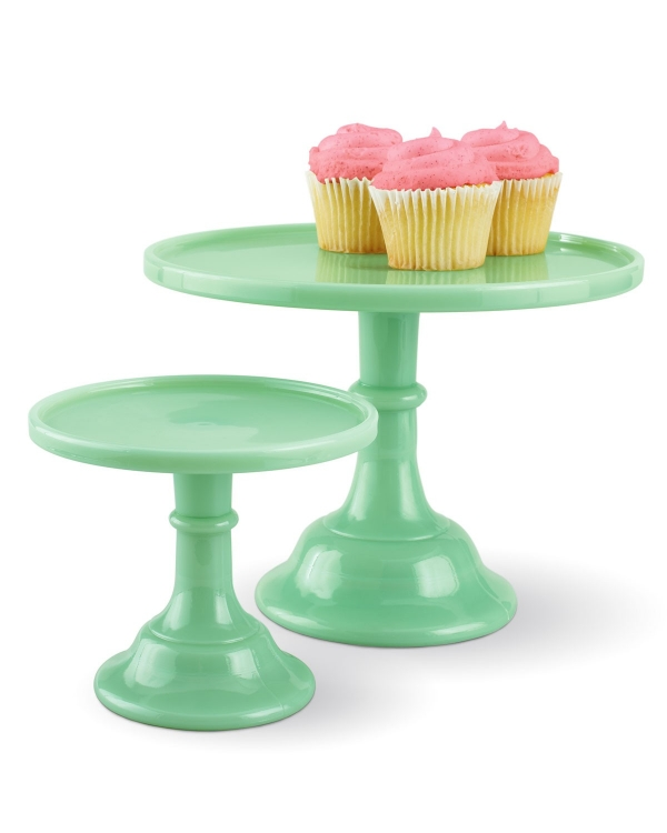 Jadeite Wedding Cake Stands