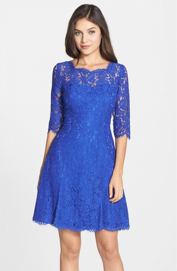 Lace Tulip Dress by Eliza J