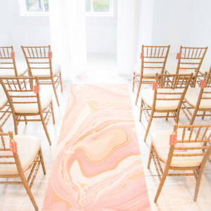 Modern Marbled Wedding with Minted