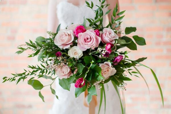 Modern Pink & Green Wedding Ideas that Pop!