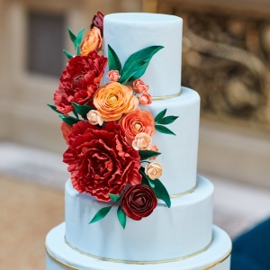 Exquisite Wedding Cake Design by Nine Cakes