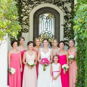 An Ombré Florida Beach Wedding