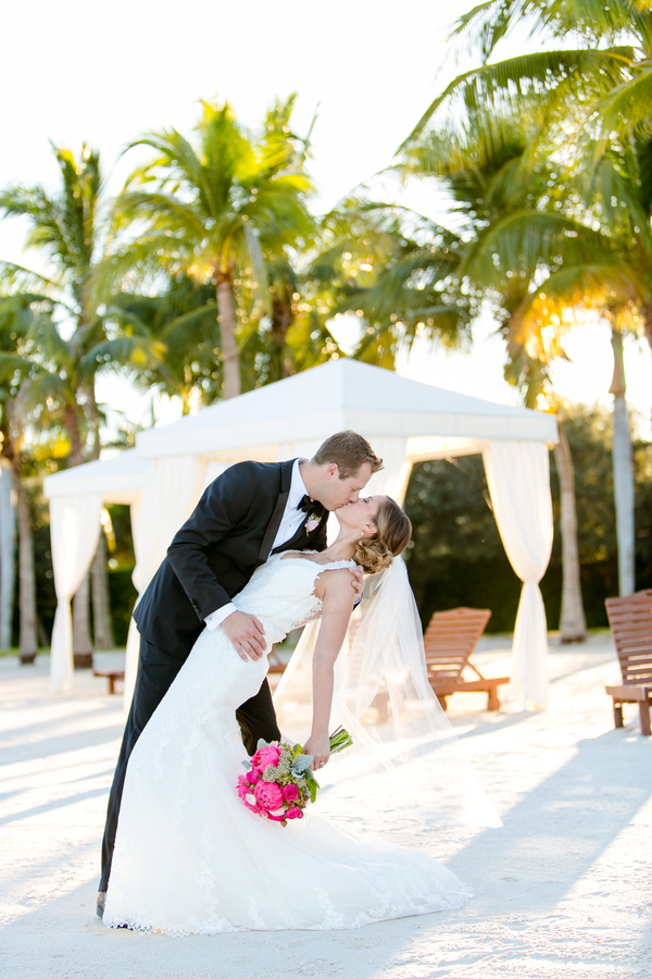 An Ombré Florida Beach Wedding