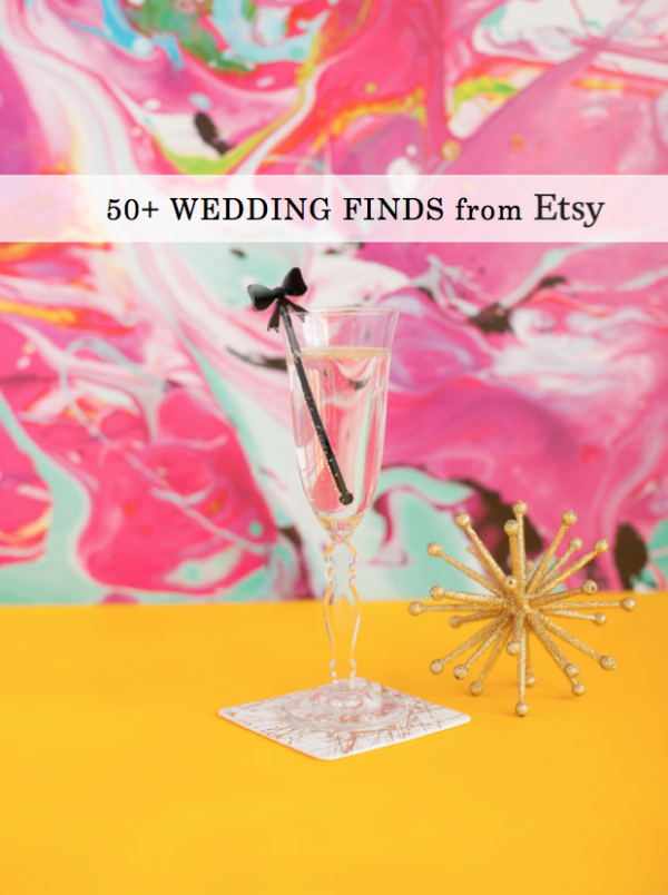 50+ Wedding Finds From Etsy