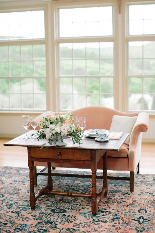 Pantone Inspired styled shoot, florals by Bespoke, Ashley Largesse Photography