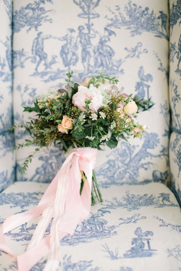 Pantone Inspired Bridals in Vermont, florals by Bespoke