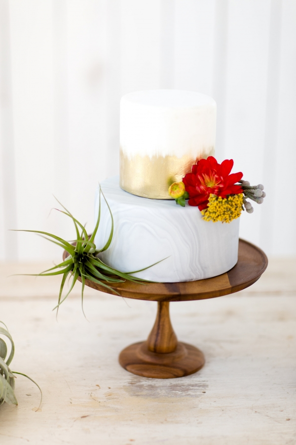 Santa Fe Meets The White Sparrow - Cake by Jar Cakery