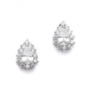 Sparkle Stud Earrings by Kenneth Jay Lane