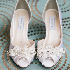 Swarovski Crystal Bridal Heels by Parisxox