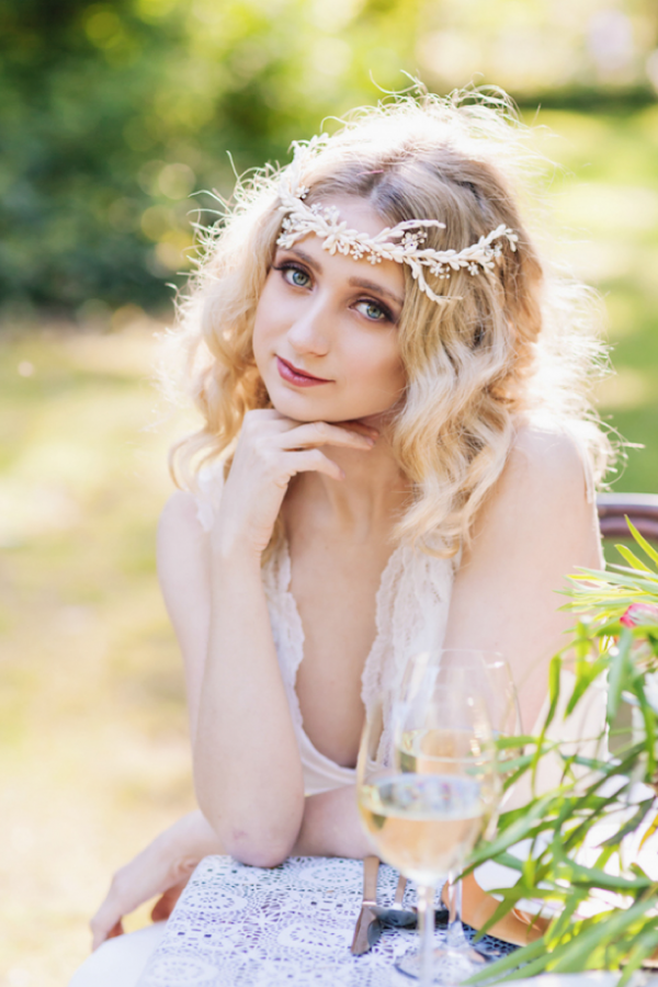 Gorgeous bridal look, photo by Wonderlust Photography