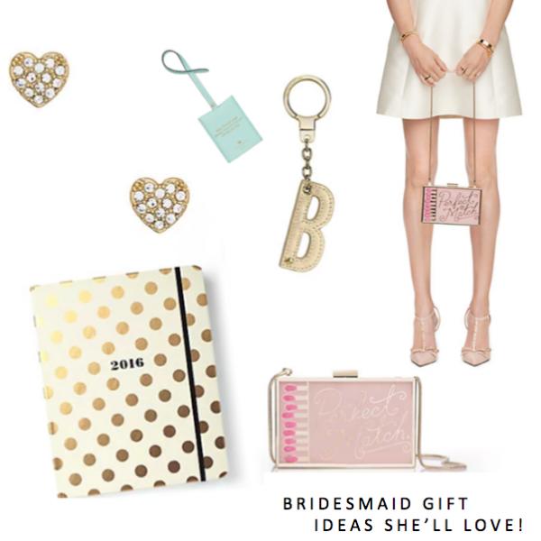 Bridesmaid Gift Ideas She'll Love