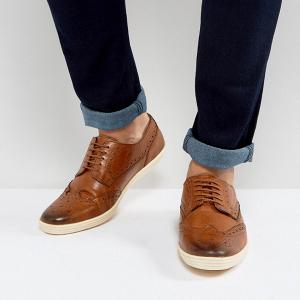 Tan Groom's Shoes