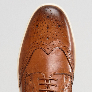 Tan Smart Casual Groom's Shoes