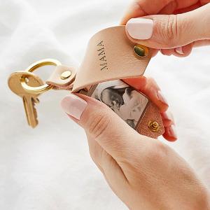 Custom Photo Keychain for Mom