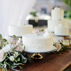 Garden Wedding Cake Bar