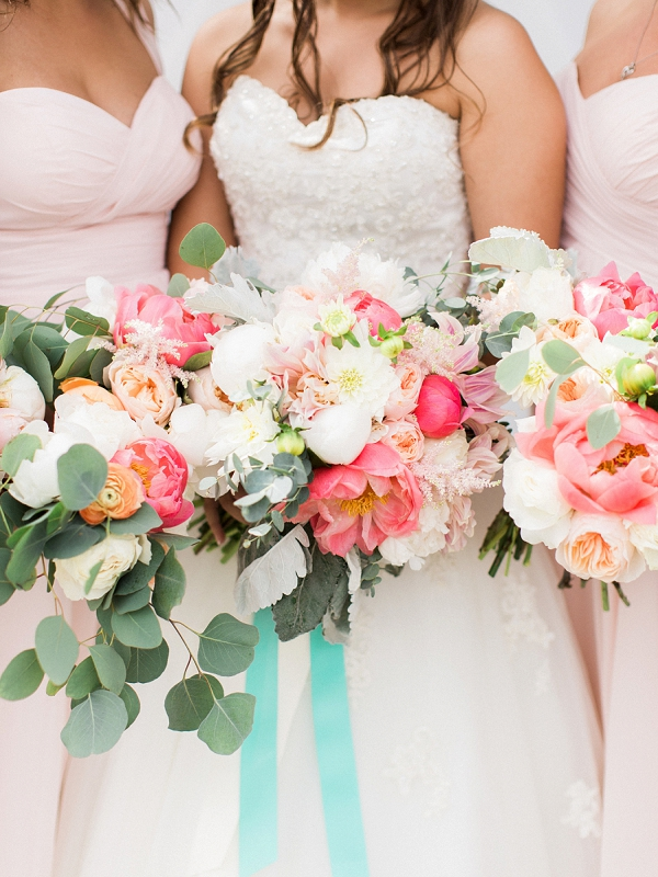 Colorful and Lush Wedding Bouquets