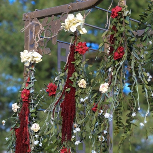 Boho Floral Wedding Ceremony Garland