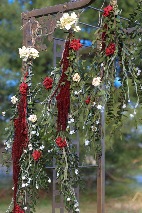 Boho Floral Wedding Ceremony Garland