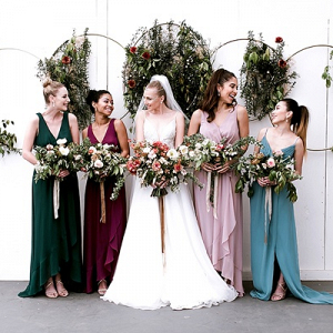 Celestial Bridesmaid Dresses