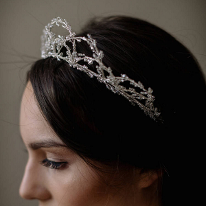 Crystal Beaded Crown