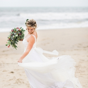 Boho Chic Virginia Beach Wedding on Tidewater & Tulle