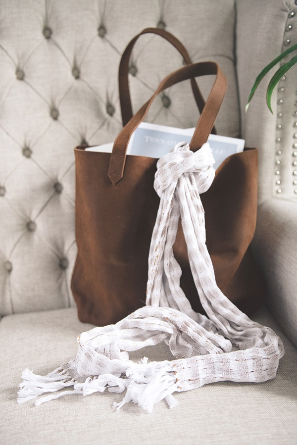Ethically Made Leather Tote Bag