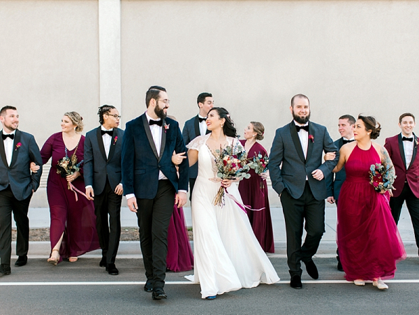 Velvet Wedding in Norfolk Virginia