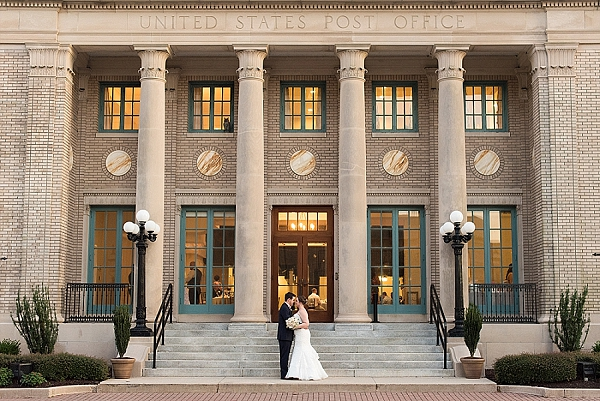 Historic Post Office Wedding in Hampton Virginia