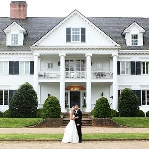 Virginia wedding couple