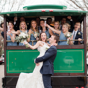 Wedding Party Trolley