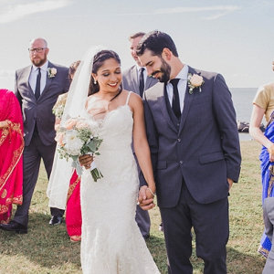 Indian Fusion Coastal Virginia Wedding