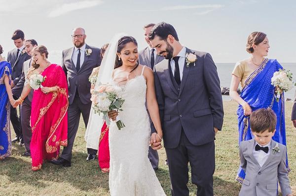 Indian Fusion Coastal Virginia Wedding