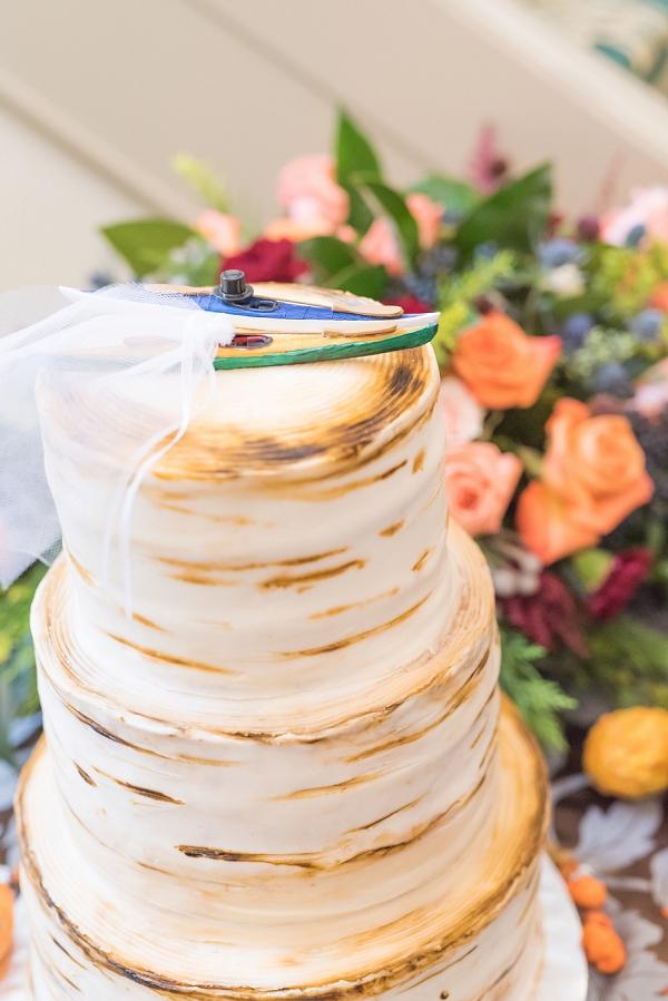Wedding Kayak Cake Toppers