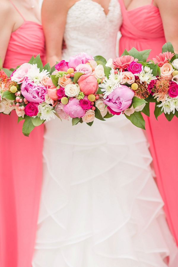 Bright Colorful Wedding Bouquets