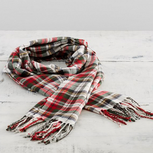 Denver Plaid Scarf