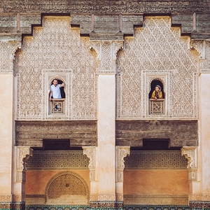 Morocco engagement session