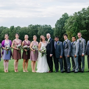Country club wedding in Virginia