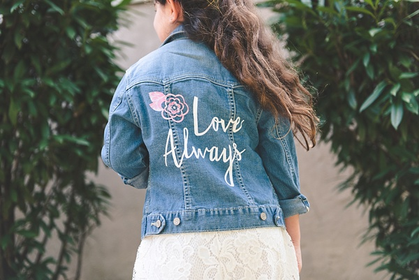 DIY Wedding Denim Jean Jacket