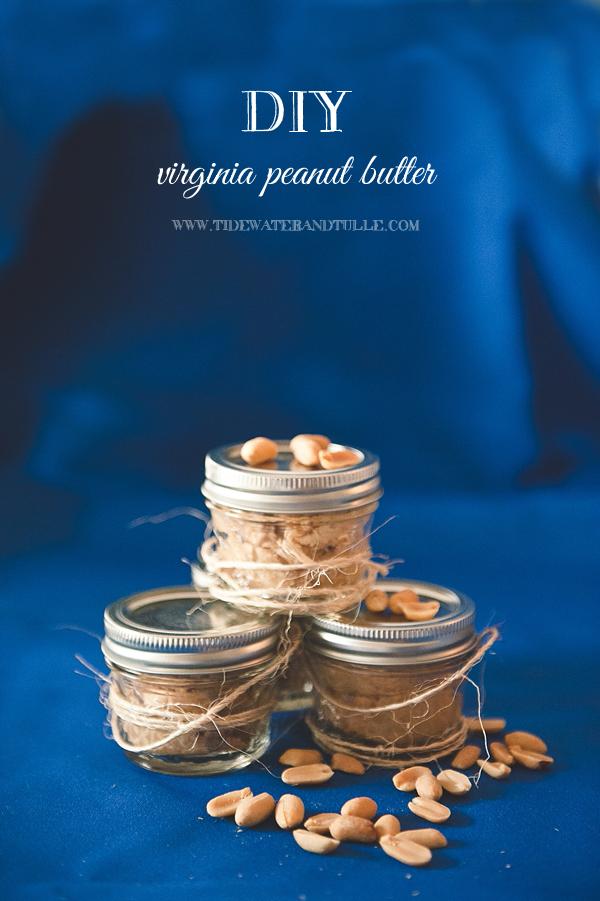 DIY peanut butter wedding favors