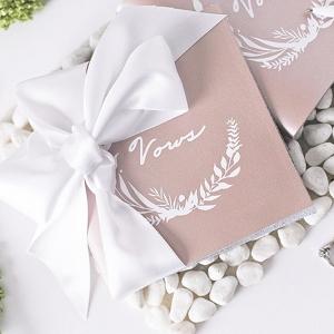 Easy DIY Wedding Vow Book