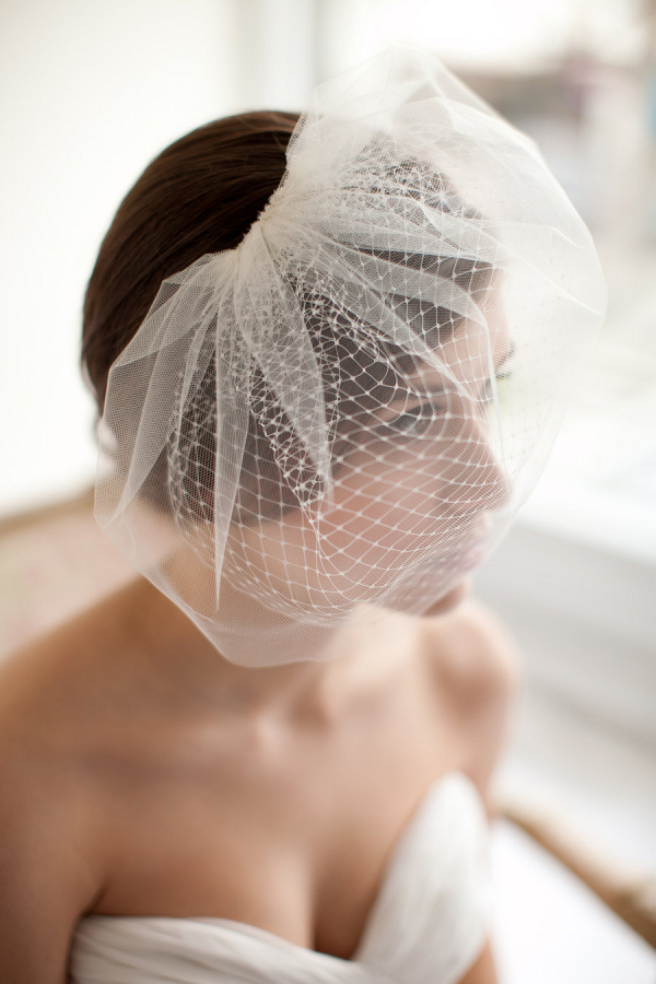 Double Layer Blusher Veil