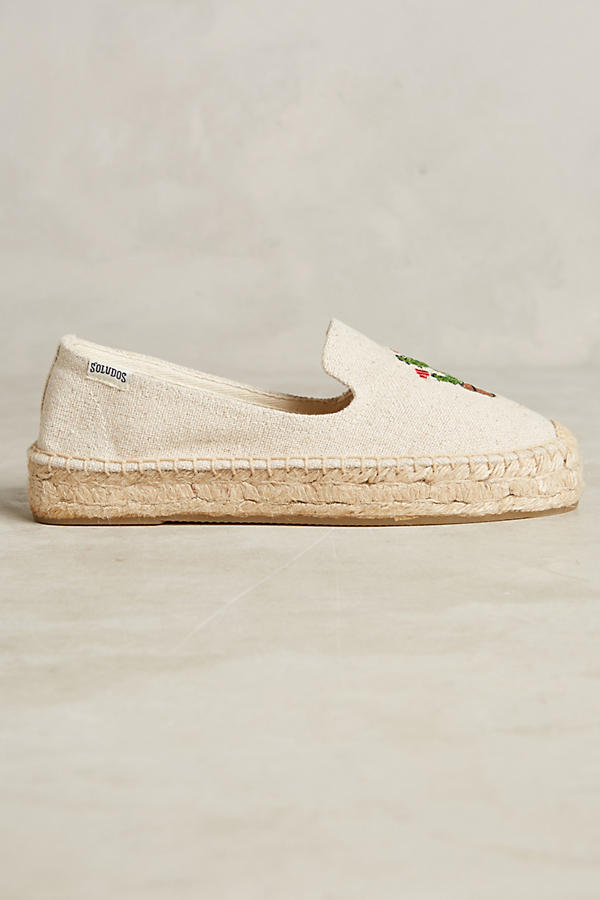 Cactus Embroidered Espadrilles