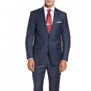 Peter Millar Flynn Classic Wool Check Suit
