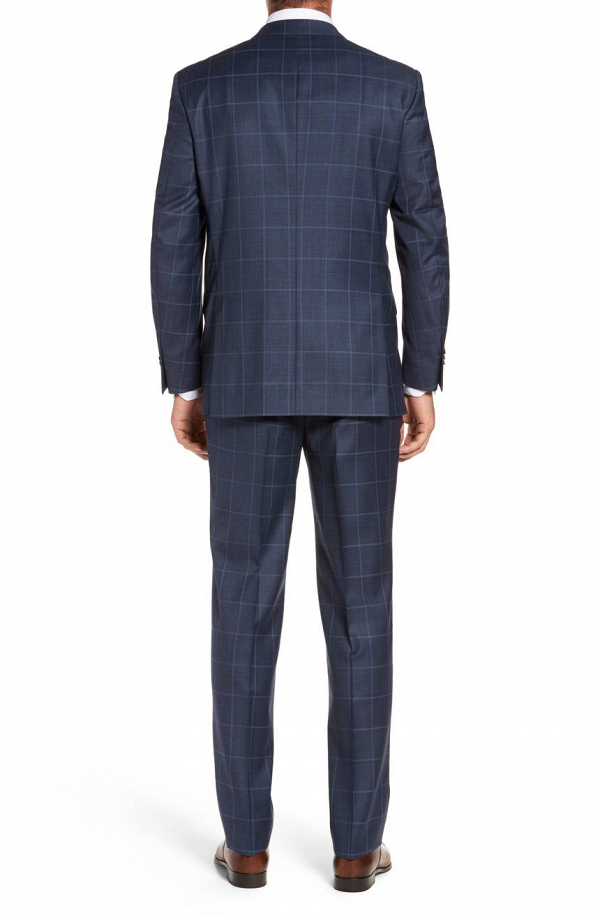 Peter Millar Flynn Classic Check Suit Back